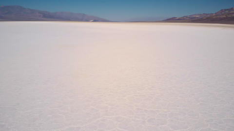 Salt field of Death Valley Live Action