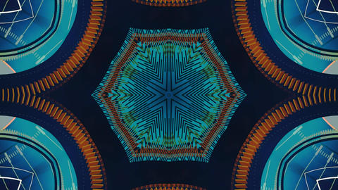 Kaleidoscope abstract 4k924 Live Action