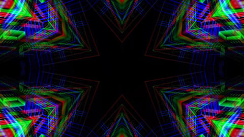 Kaleidoscope abstract 4k941 Live Action
