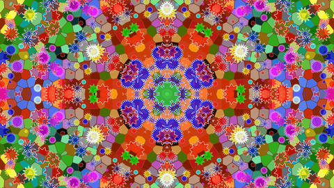 Kaleidoscope abstract 4k989 Live Action