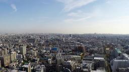 Residential area in Tokyo. Timelapse shooting ビデオ