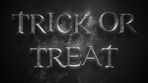Animation text trick or treat and mystical animation halloween background 14 Live Action