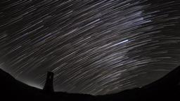 Star trail (Utsukushigahara plateau) Footage