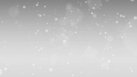 Christmas Silver Background 4K Animation