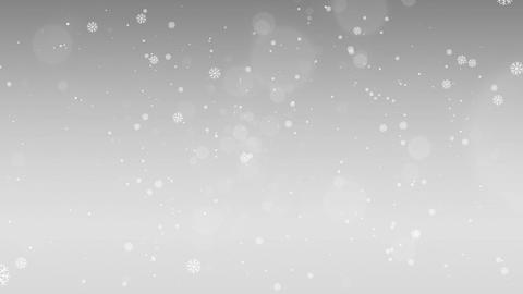 Silver background Christmas CG動画素材