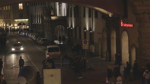 Street at night Footage