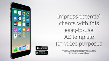 DDV - iPhone 6 App Template After Effects Projekt