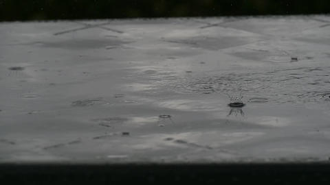 Raining Footage