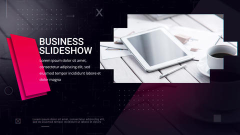 Business Tech Promo After Effects Template