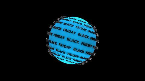 Black Friday Blue Planet Animation