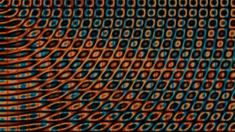 Scrolling squares motion graphics Animation