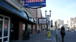 Commercial Hotel and Princess Theater on Whyte Avenue in Edmonton, Alberta Footage