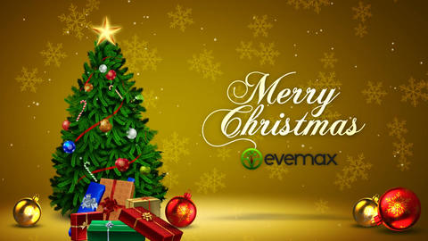 Christmas Tree Wishes After Effects Template
