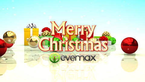 Christmas Gift Wishes After Effects Template