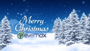 Christmas Landscape Wishes After Effects Project