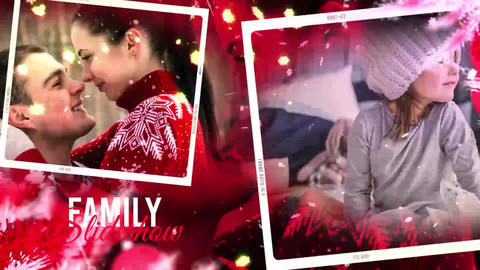 Christmas And New Year Story After Effects Template