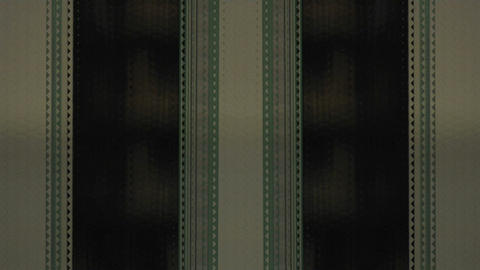 strips of film run parallel Stock Video Footage
