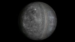 Mercury planet Animation