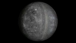 Mercury planet Animation