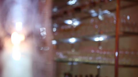 glass blur 02 Footage