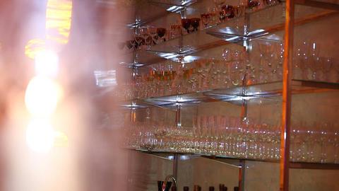 glass blur 02 Stock Video Footage