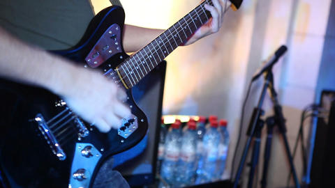 guitar 02 Stock Video Footage