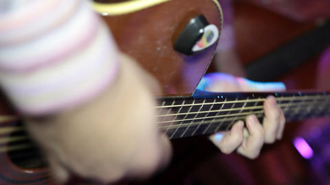 guitar 04 Stock Video Footage