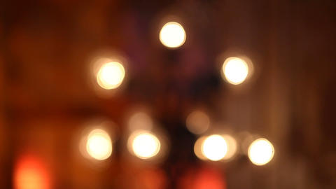 lamp blur Stock Video Footage