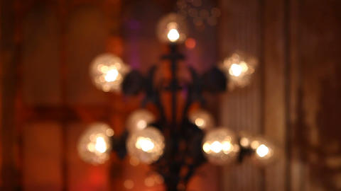 lamp blur Footage
