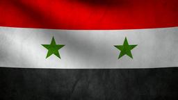 Syria flag Animation