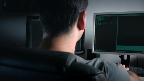 Hackers World Stock Video Footage