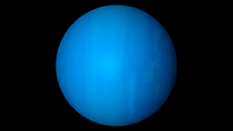 Uranus planet Animation