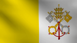 Vatican flag Animation