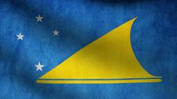 Tokelau flag Animation