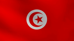 Tunisia flag Animation