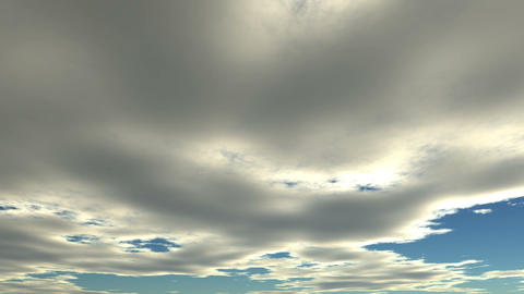 Flying clouds Stock Video Footage