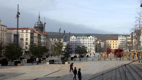 Clermont Ferrand stock footage