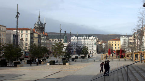 Clermont Ferrand Stock Video Footage