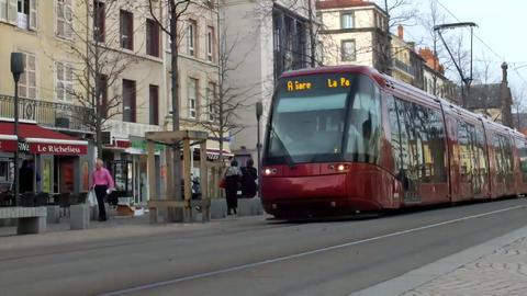 Tram Car mov 1 Stock Video Footage