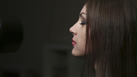 Shooting a portrait Stock Video Footage
