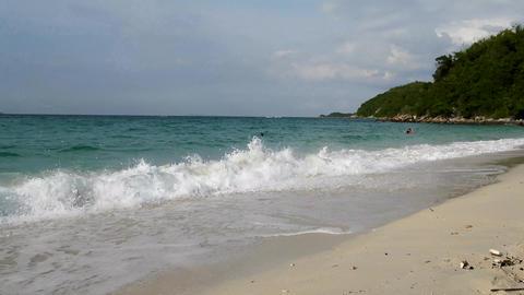 Kho Larn beach Thailand Footage