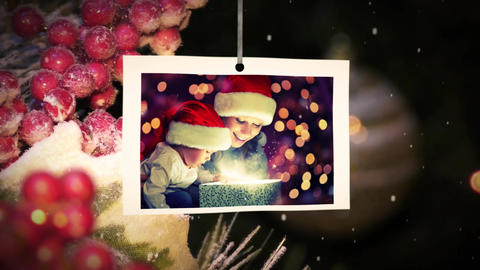 Christmas Tree Slideshow After Effects Template