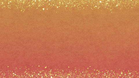 Golden-confetti-frame Orange Animation