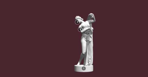 Aphrodite Standing 3D Model