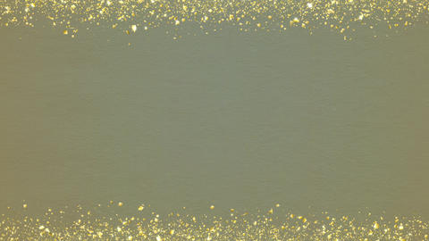 Golden-confetti-frame Khaki Animation