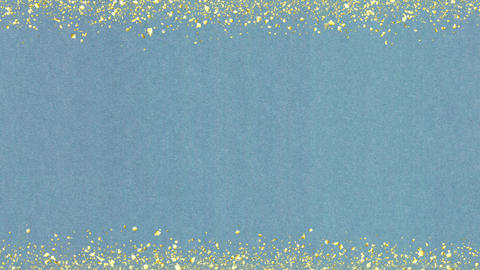 Golden-confetti-frame Aqua Animation