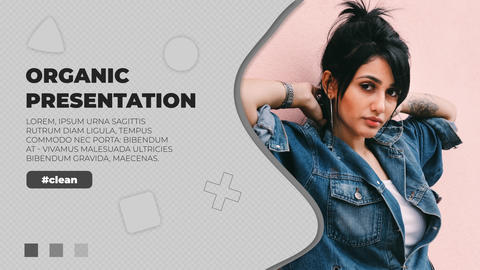 Organic Presentation After Effects Template