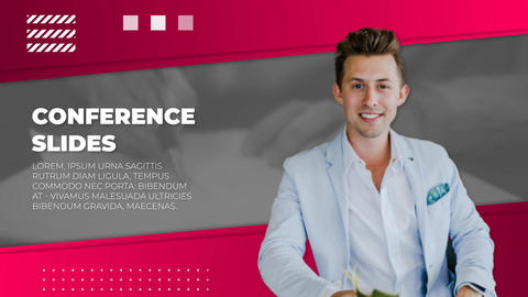 Conference Slides After Effects Template