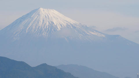 富士山 タイムラプス ビデオ