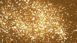 Shining Bokeh sparkles Abstract Particles Seamless Loop Motion Background Animation